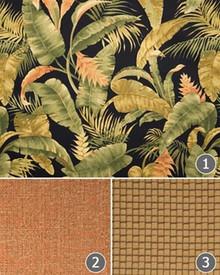 La Selva Black Fabric by the Yard - 13864104630