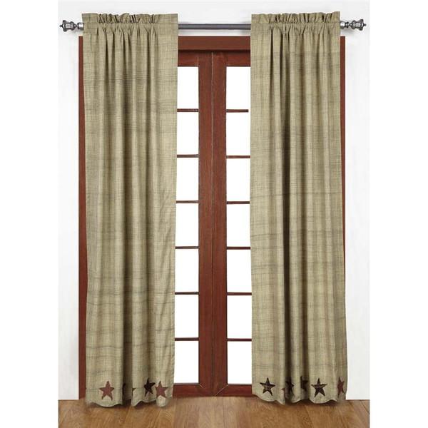 Abilene Star Curtains - 840528110580