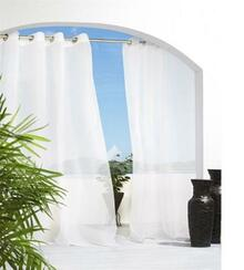 Cote D'azure Outdoor Grommet Curtain - 69556467279