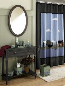 Bear Lake Shower Curtain - 754069834495
