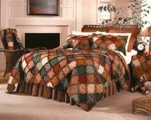 Campfire Square Pillow -