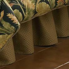 La Selva Black Bed Skirt - 13864104425