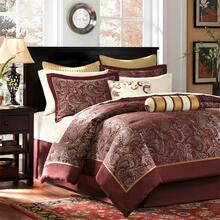 Aubrey Burgundy Bedding Collection -