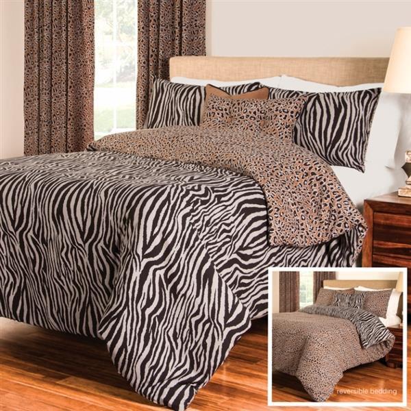 Zebra Zen Duvet Set -