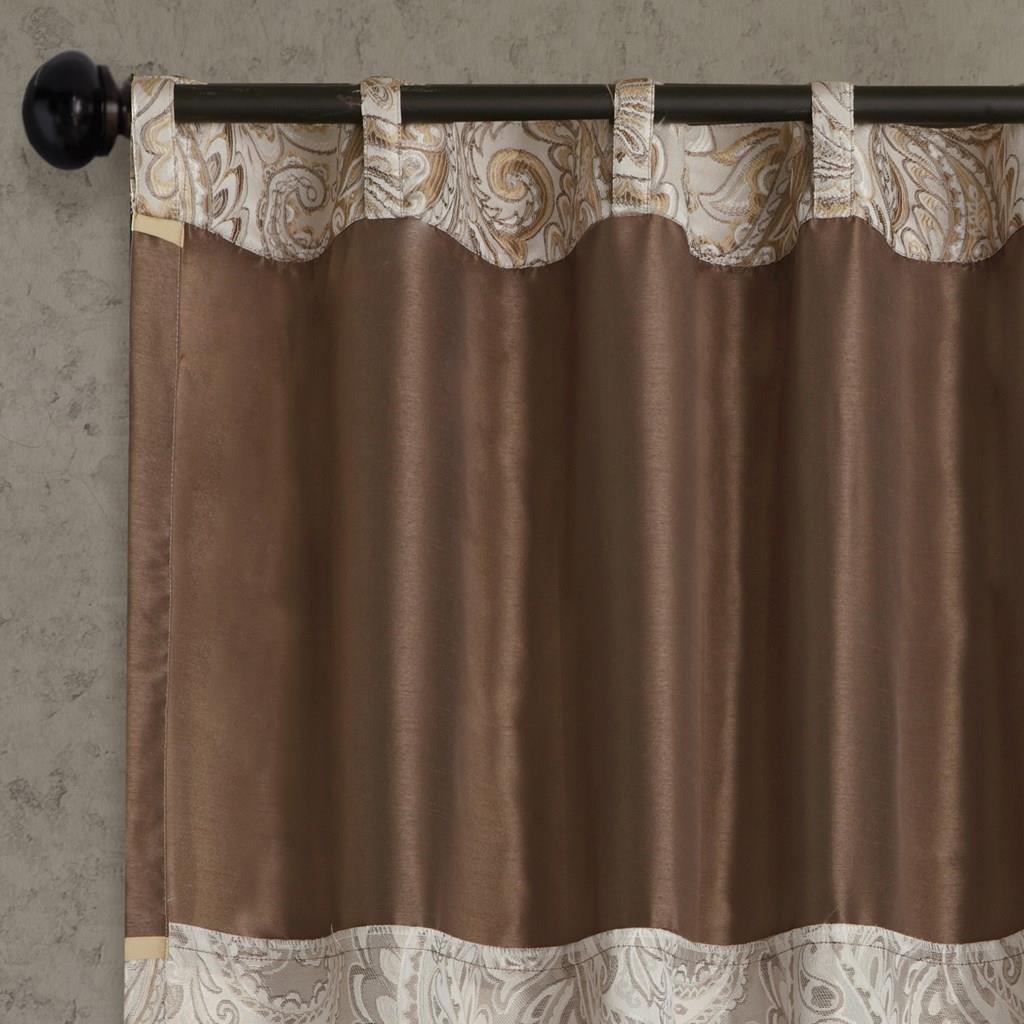 Aubrey Blue Curtains - 675716455569