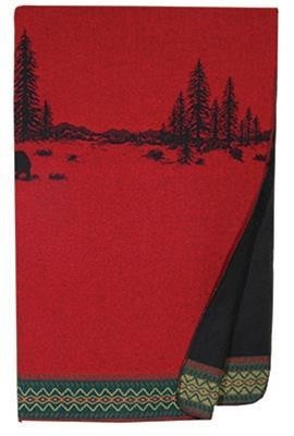 Wooded River Bear Throw - 650654046956