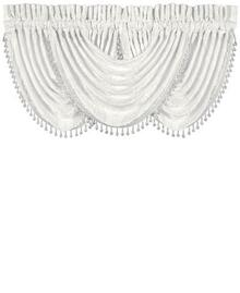 Bianco White Waterfall Valance - 846339072130