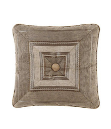 Bradshaw Natural Tufted Square Fashion Pillow - 846339046858