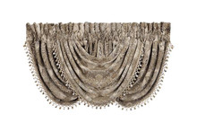 Bradshaw Natural Waterfall Valance - 846339046933
