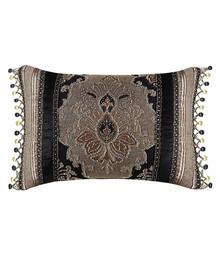 Bradshaw Black Boudoir Pillow - 846339050930