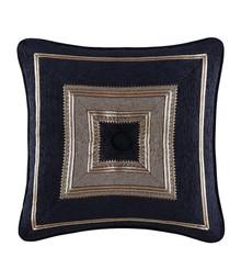 Bradshaw Black Tufted Square Fashion Pillow - 846339050909