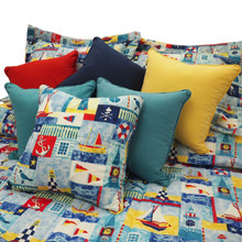 Nautical Times Bedspread Collection -
