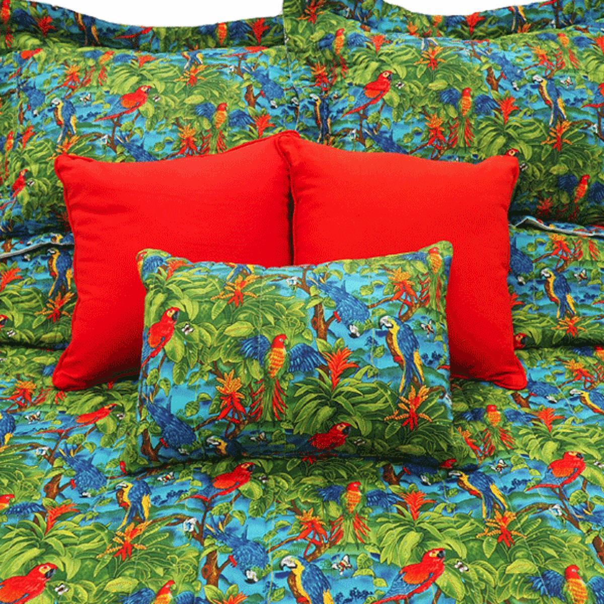 Parrots Bedspread Collection -