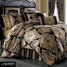 Bradshaw Black Comforter Collection -