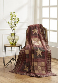 Bradford Star Quilted Throw - 844160086128