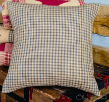 Black and Tan Checkered Fabric Pillow - 844160082649