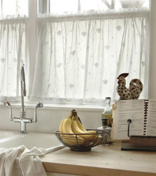 Bee Lace Tier Curtain Panel - 734573063963
