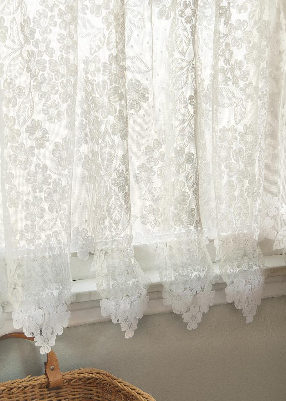 Dogwood Lace Curtain -