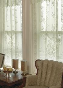 Victorian Rose Lace Curtain -
