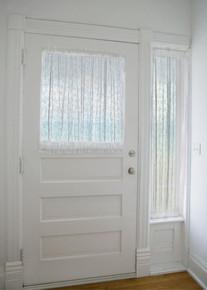 Starfish Lace Door Panel - 734573127733