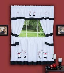 Gourmet Cottage Kitchen Tier Curtain Set -