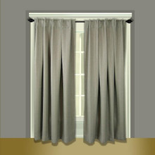 Grand Pointe Insulated Back Tab Curtains -