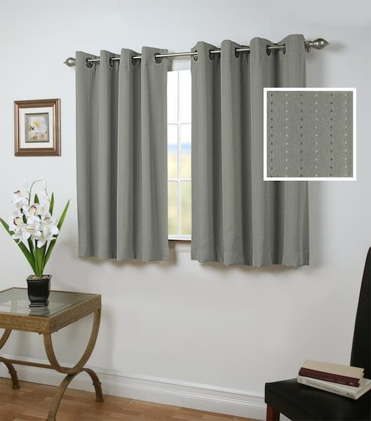 Grand Pointe Insulated Grommet Curtains -