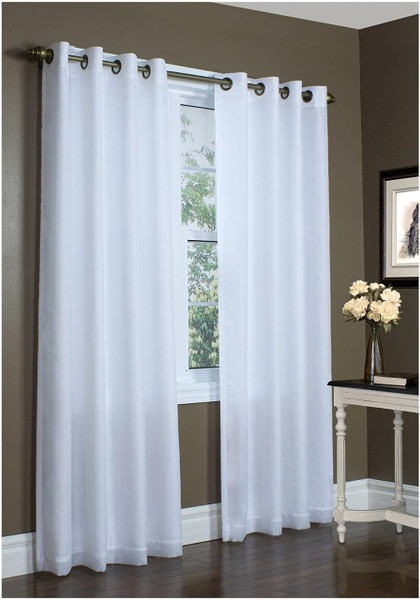 Rhapsody Thermavoile Lined Grommet Curtain - 69556457478