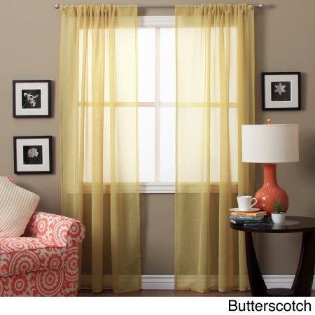 Lucerne Textured Sheer Curtains -