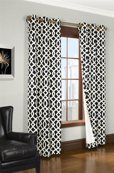 Trellis Thermalogic Grommet Curtains - 069556 483989
