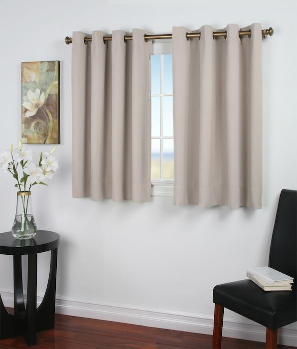 Ultimate Blackout Thermal Insulated Grommet Curtains -