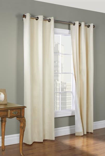Weathermate Thermalogic Grommet Curtains -