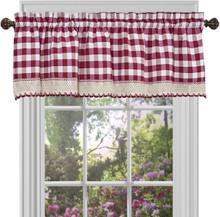 Buffalo Check Tier Curtain Pair - 054006628775