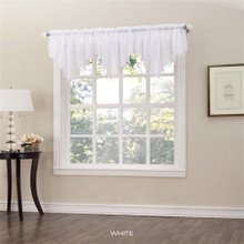 Erica Sheer Crushed Voile Valance -