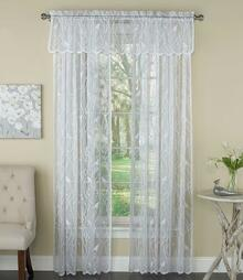 Songbird Lace Curtain and Tier Collection -