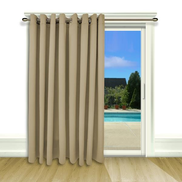 Ultimate Blackout Thermal Insulated Grommet Patio Panel - 842249016387