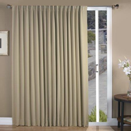 Ultimate Blackout Thermal Insulated Rod Pocket Patio Panel - 842249008429