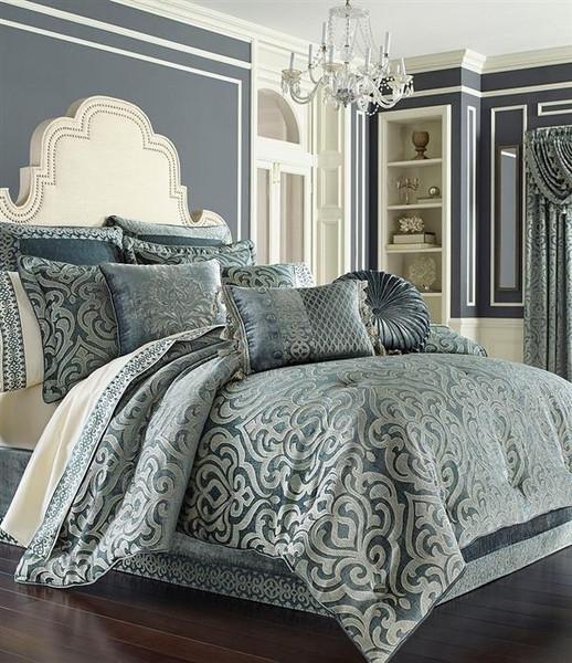 Sicily Teal Comforter Set - 846339066054