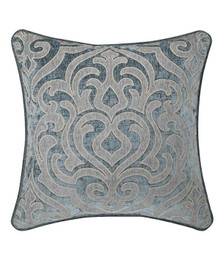 Sicily Teal Basic Square Pillow - 846339065996