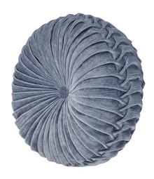 Sicily Teal Tambourine Round Pillow - 846339066061