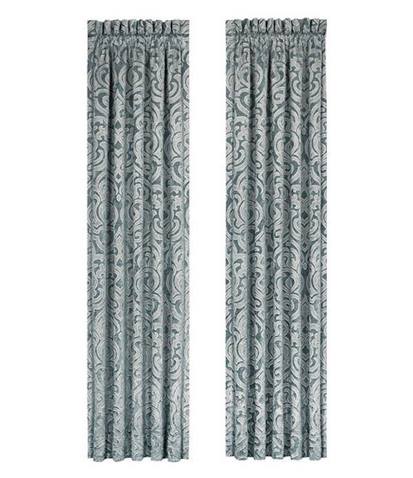 Sicily Teal Curtains - 846339066016