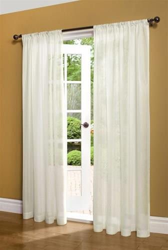 Weathershield Insulated Thermasheer Curtains - 69556473065
