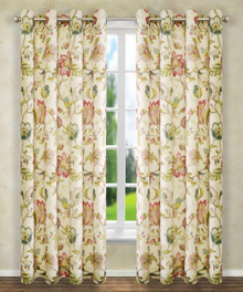 Brissac Floral Insulated Grommet Panel -
