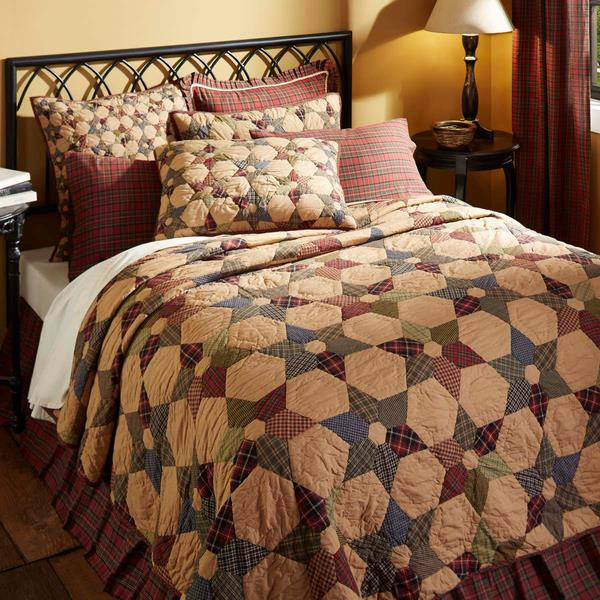 Tea Star Quilt Collection -