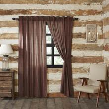Tartan Red Plaid Curtain Collection -