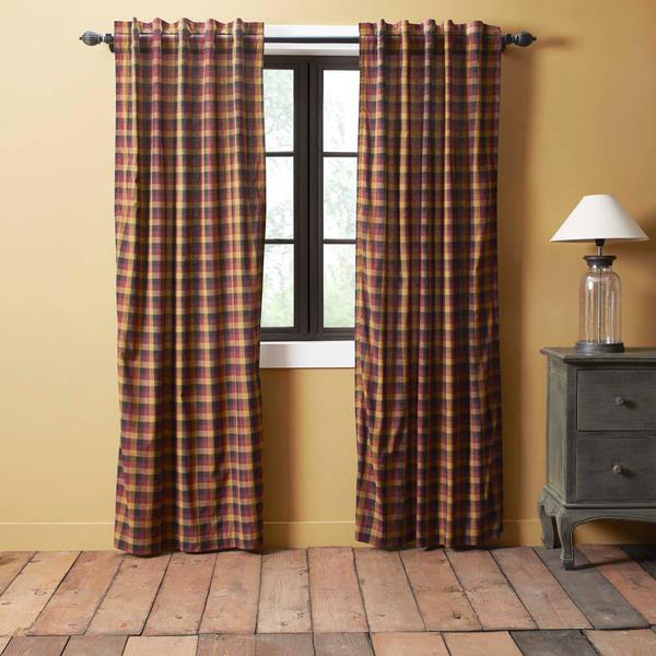 Primitive Check Curtain Collection -