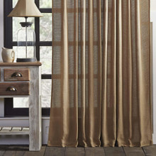 Burlap Curtain Collection -