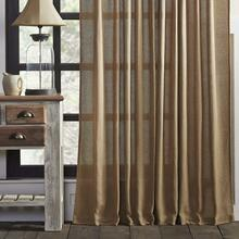 Burlap Curtain Collection -