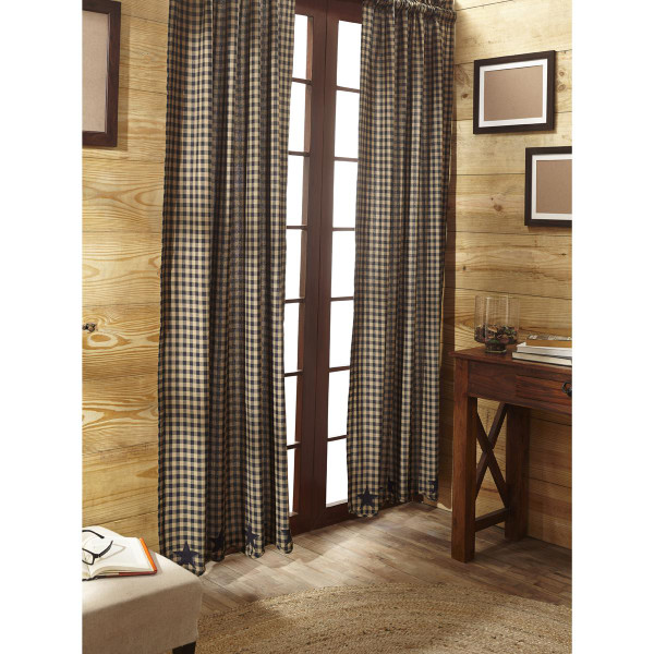 Black Star Curtain Collection -