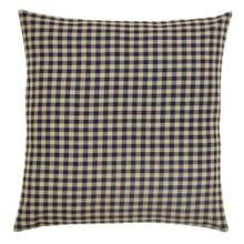 Black Check Fabric Euro Sham - 840528112041